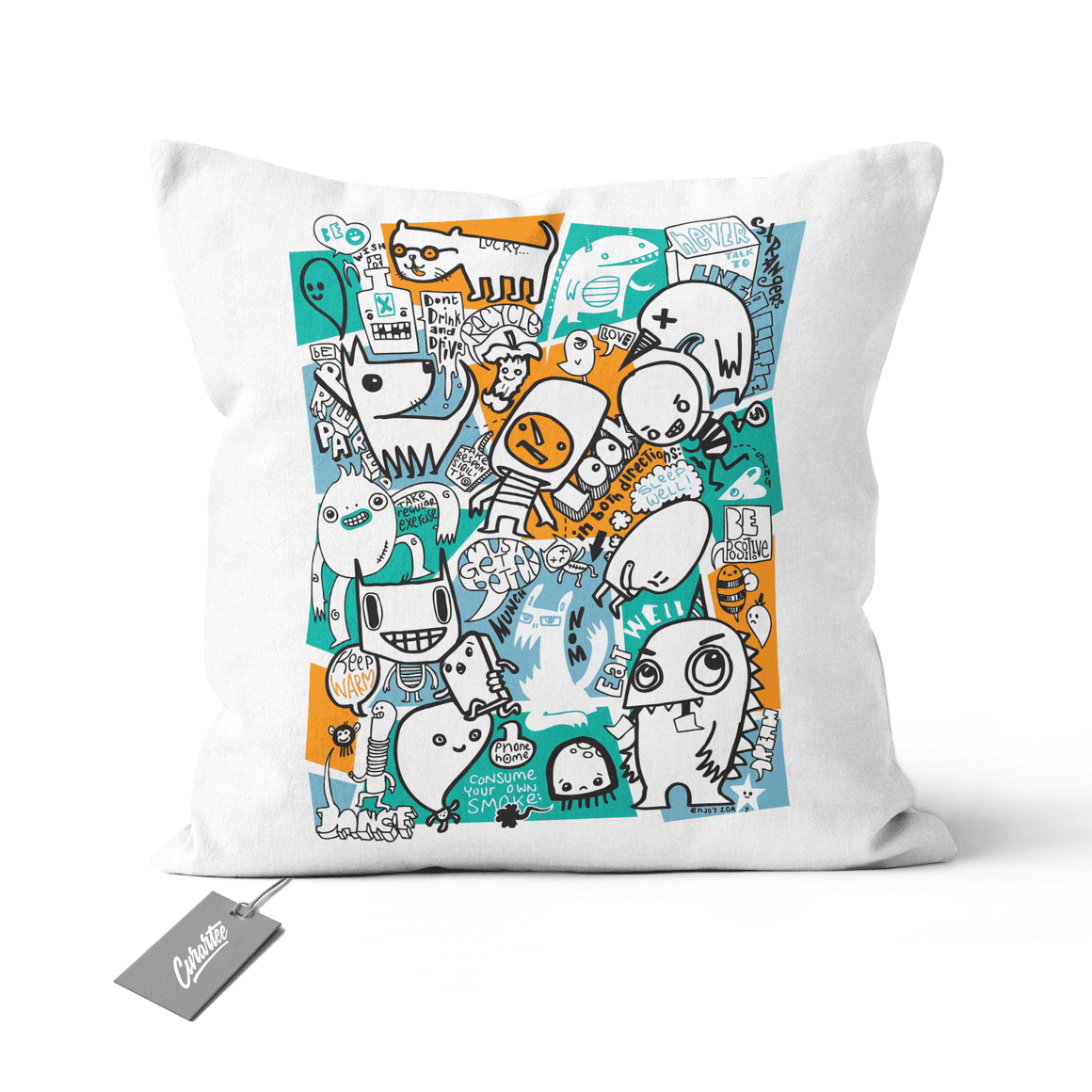 Advice Cushion - Premium Artwear Curartee