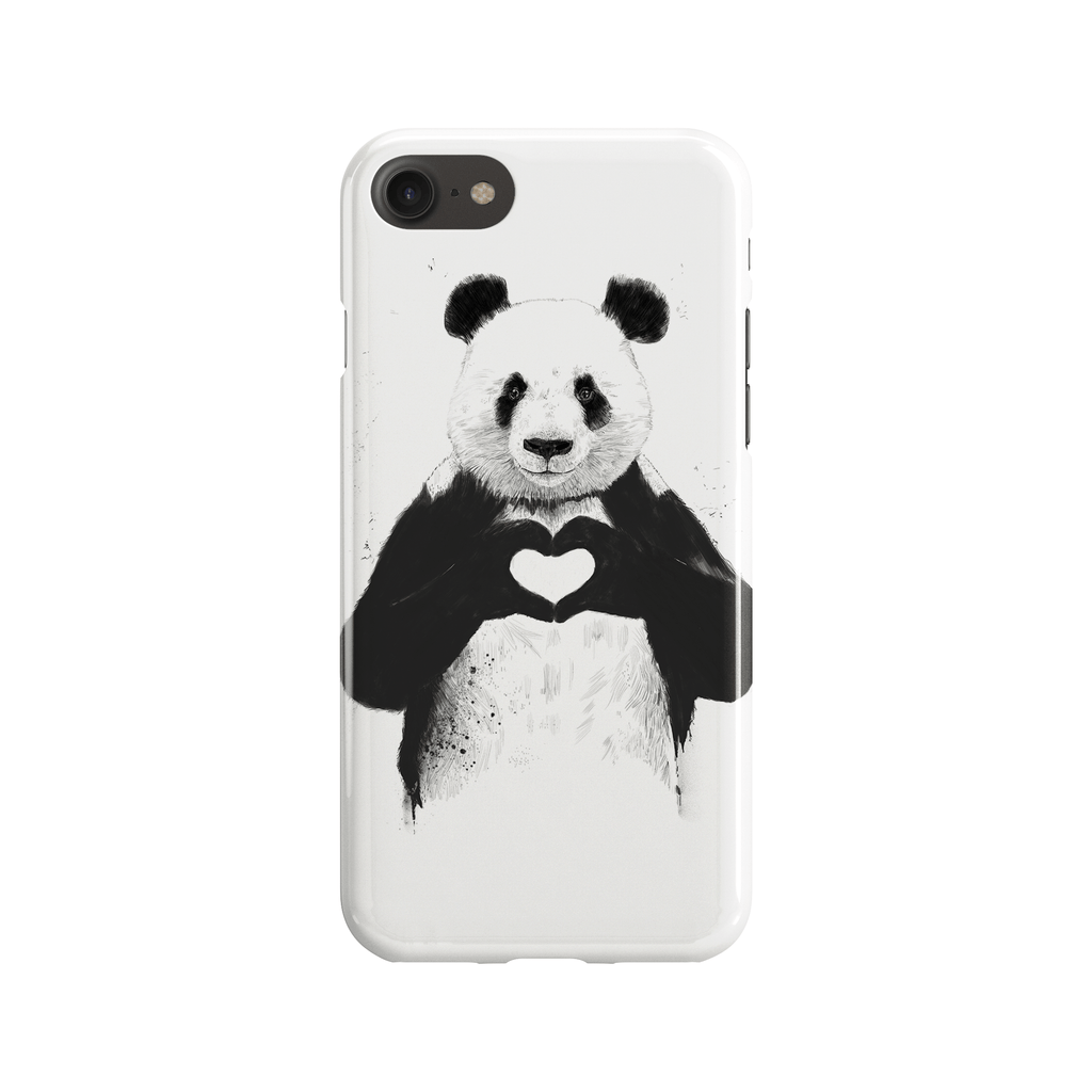 All You Need is Love Phone Case - Premium Artwear Curartee