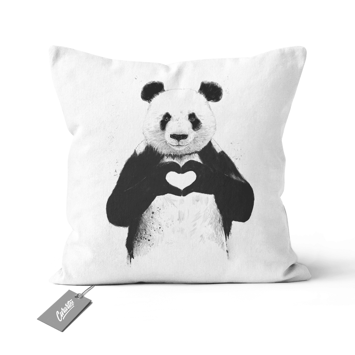 All You Need is Love Cushion - Premium Artwear Curartee
