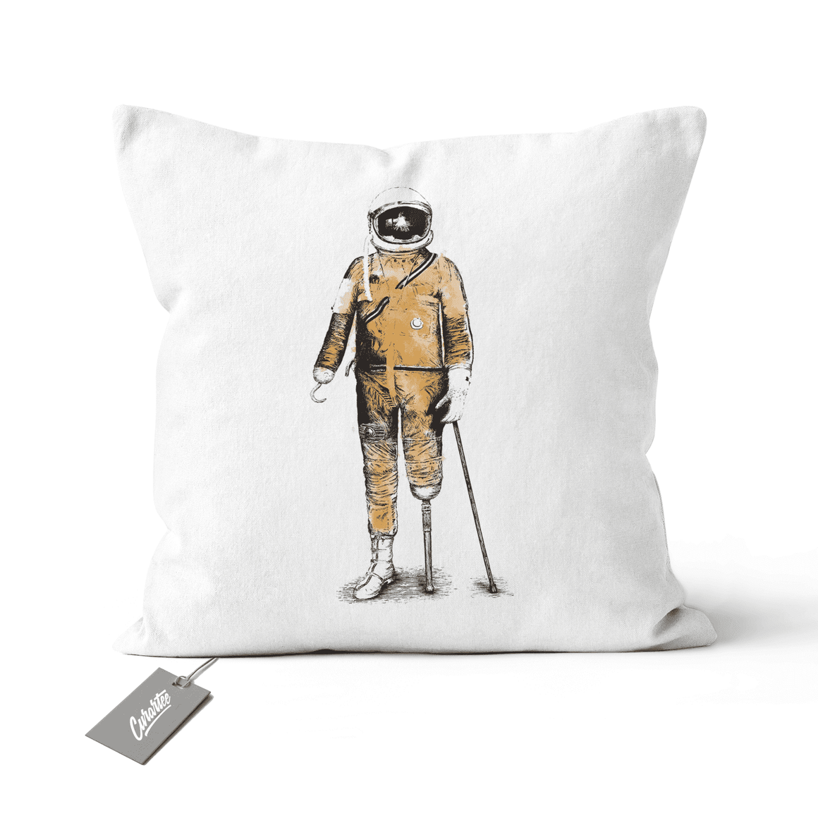 Astropirate Cushion - Premium Artwear Curartee