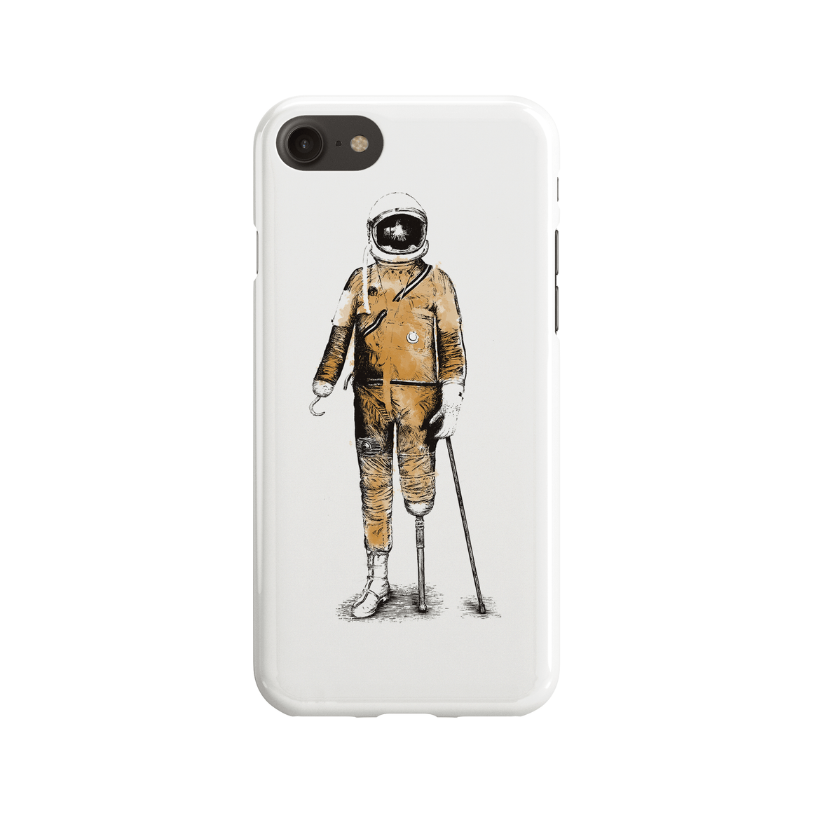 Astropirate Phone Case - Premium Artwear Curartee