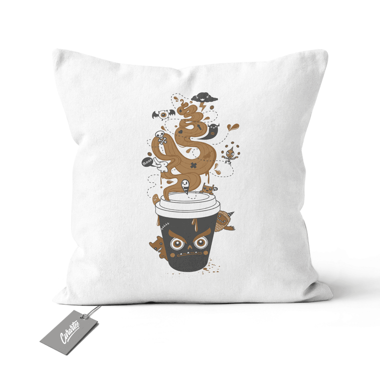 Awaken Cushion - Premium Artwear Curartee