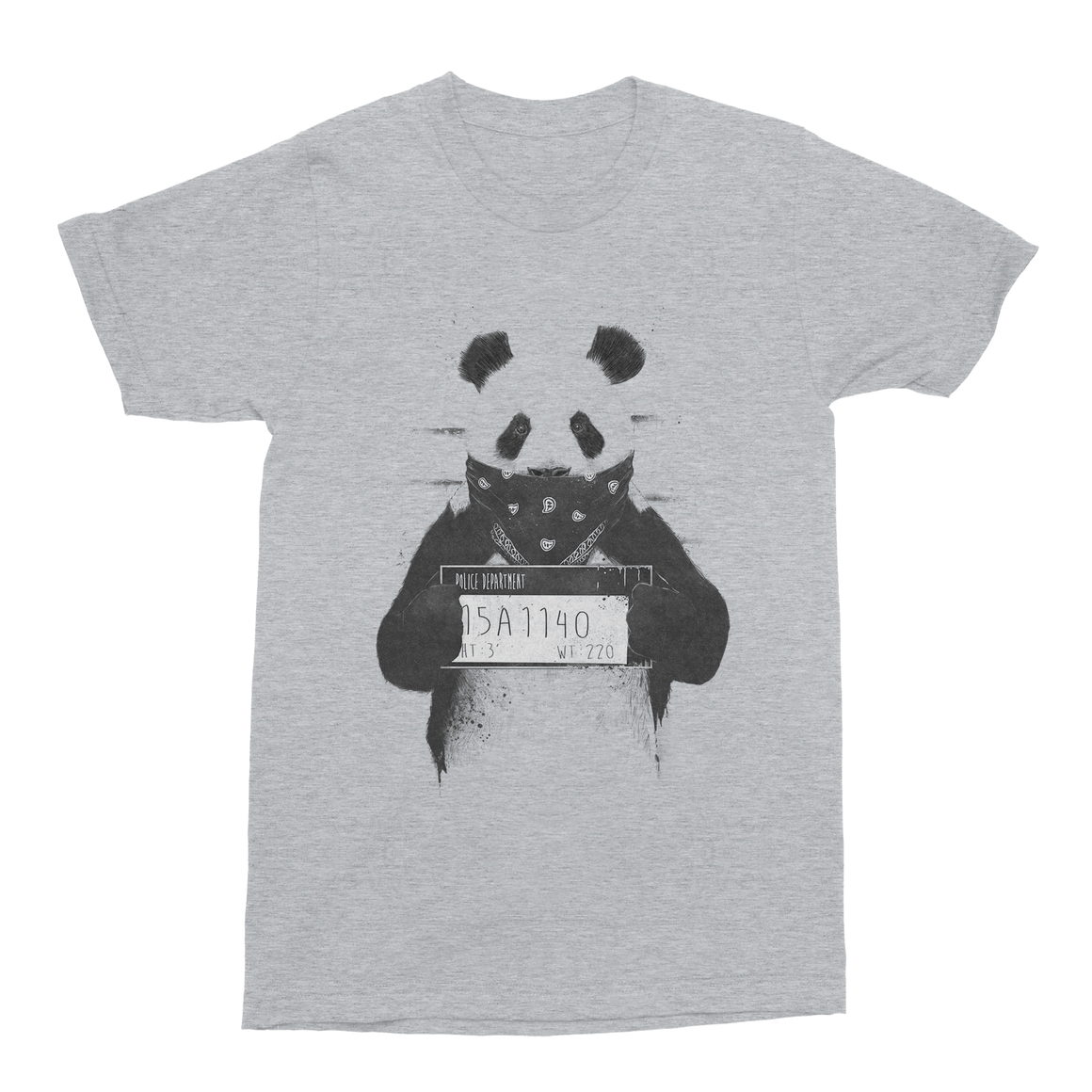 Bad Panda Men's T-Shirt-Curartee