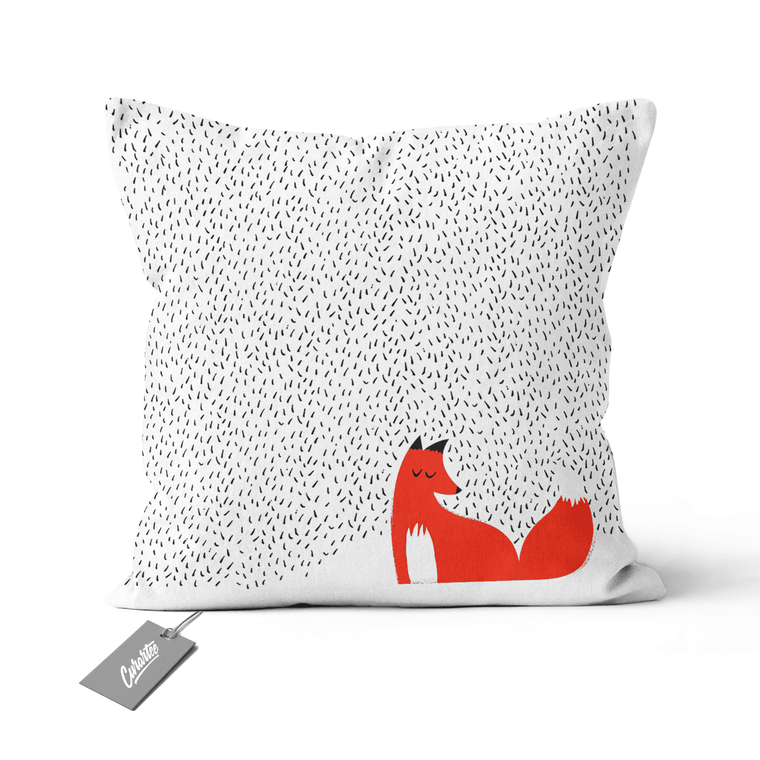 Black Grass Cushion - Premium Artwear Curartee