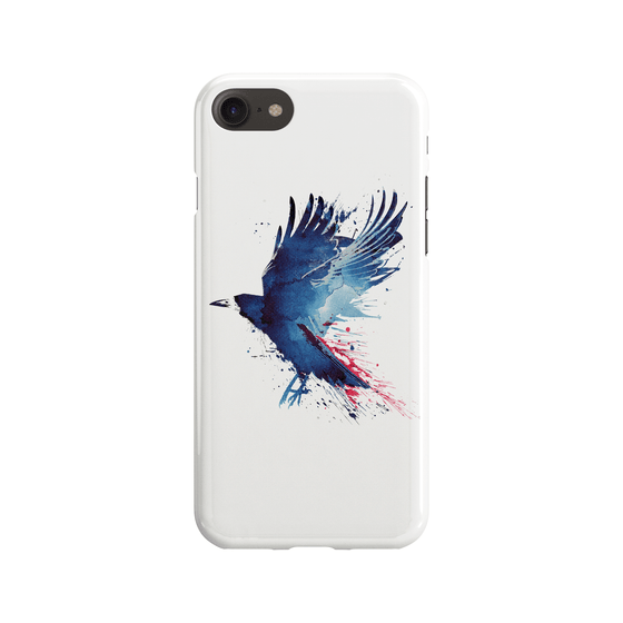 Bloody Crow Phone Case - Premium Artwear Curartee