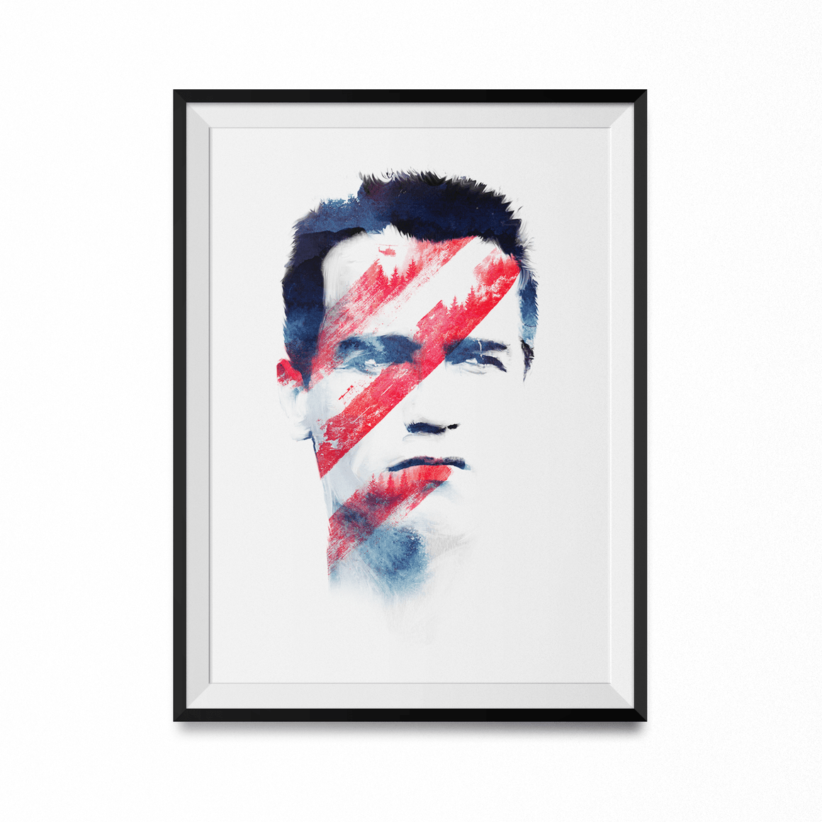 Bloody Forest Art Print-Curartee