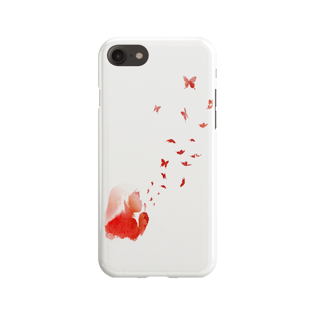Blowing Butterflies Phone Case - Premium Artwear Curartee