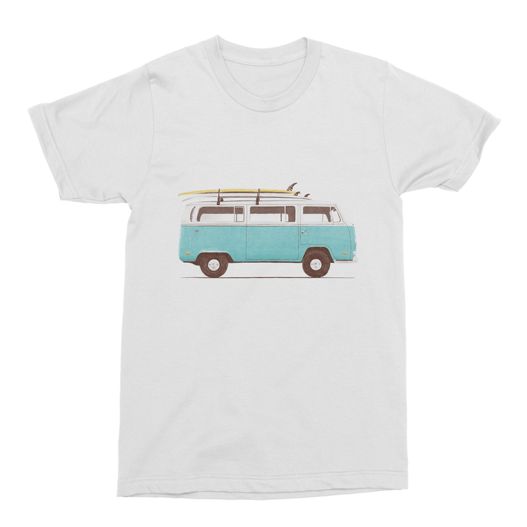 Blue Van Men's T-Shirt-Curartee