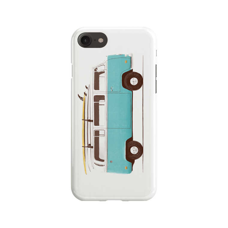 Blue Van Phone Case - Premium Artwear Curartee