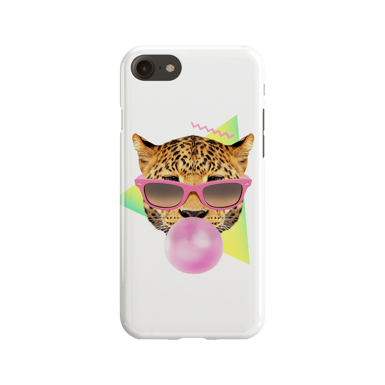 Bubble Gum Leo Phone Case - Premium Artwear Curartee