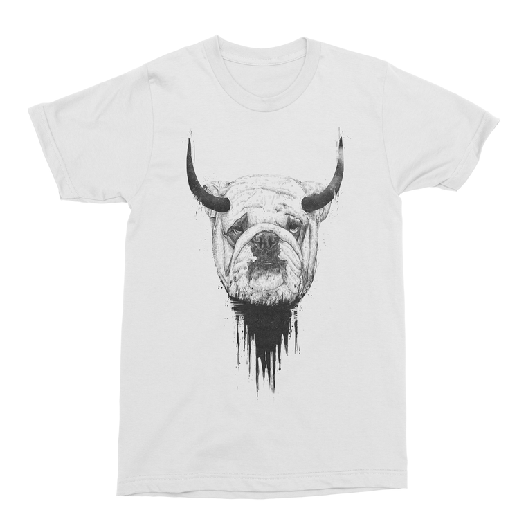 Bulldog Men's T-Shirt-Curartee