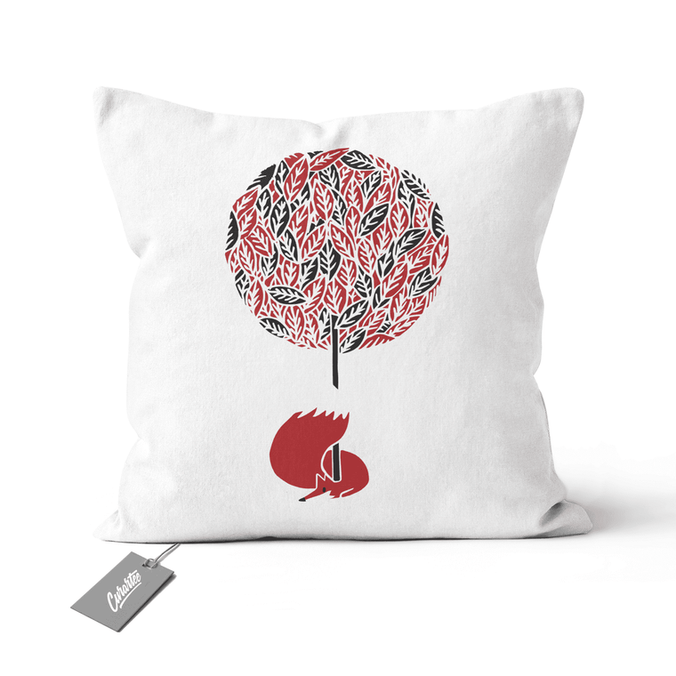 Cherry Tree Cushion - Premium Artwear Curartee