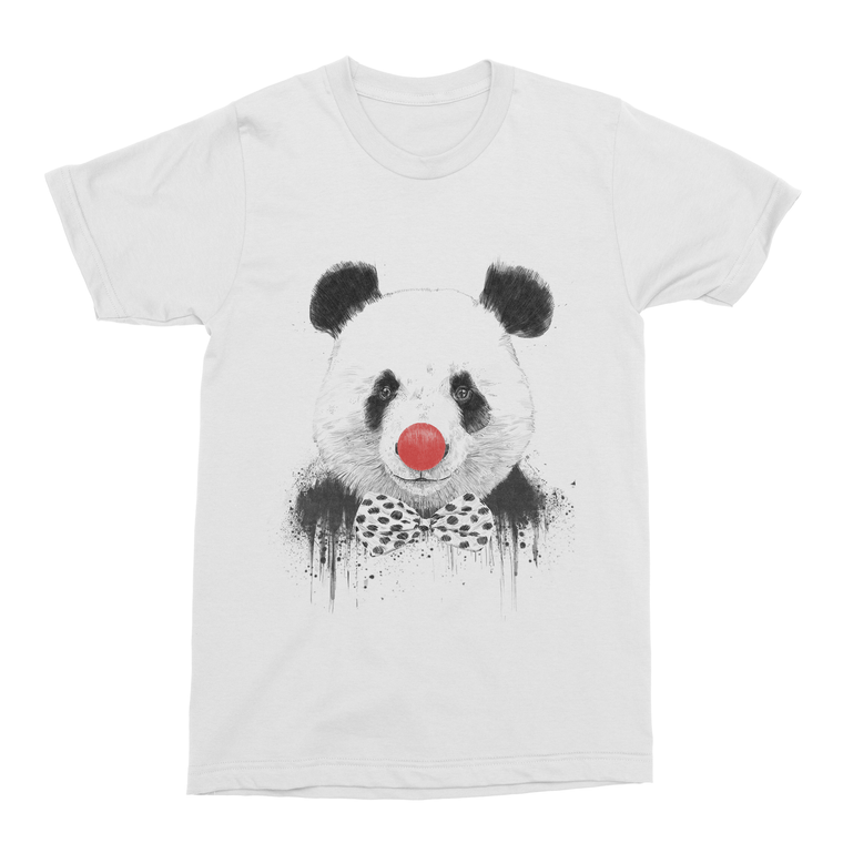Clown Panda Men's T-Shirt-Curartee