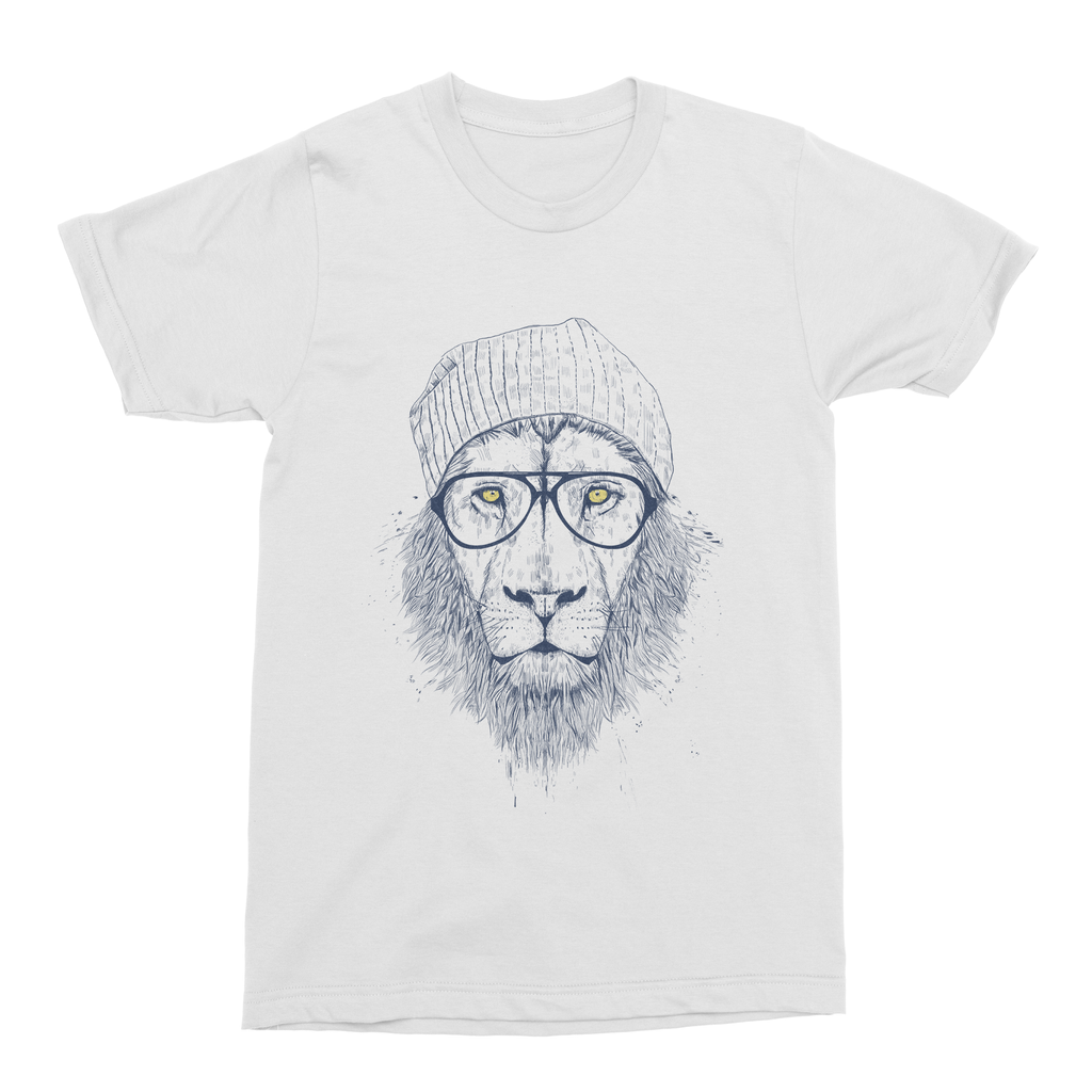 Cool Lion Men's T-Shirt - Premium Artwear Curartee