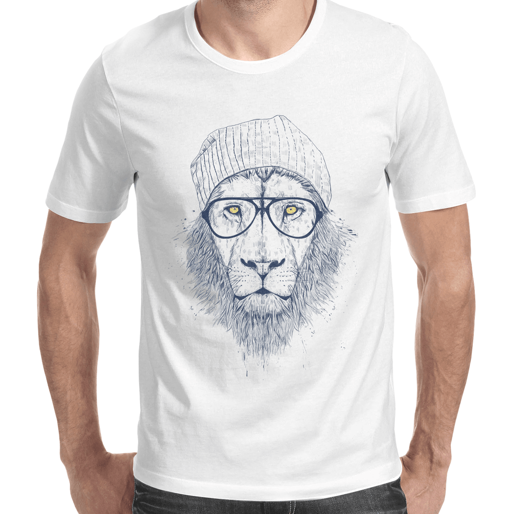 Cool Lion Men's T-Shirt-Curartee