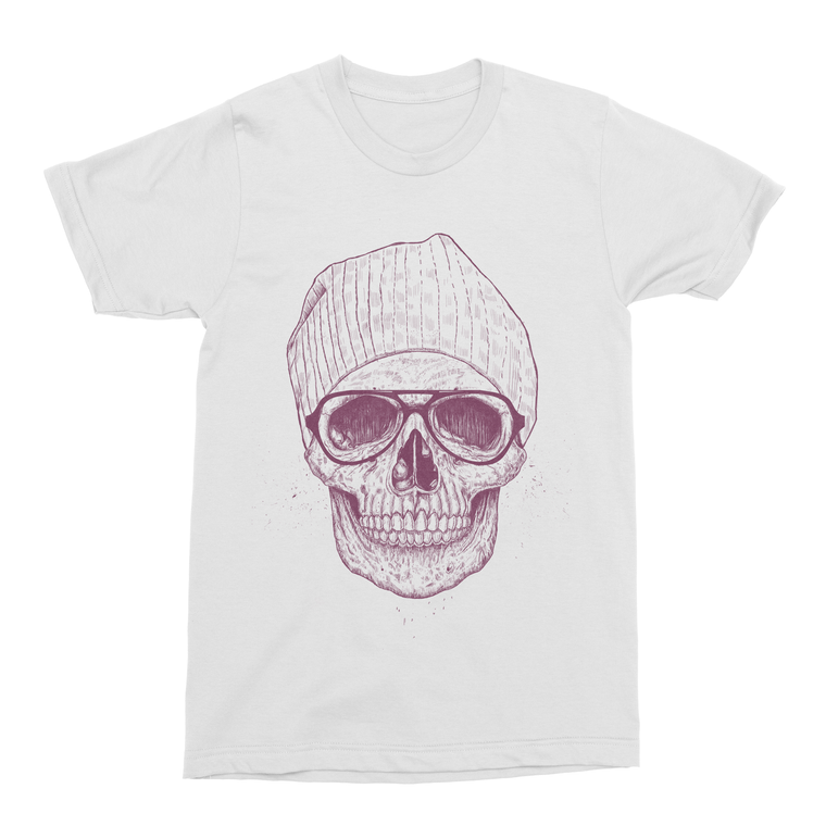 Cool Skull Men's T-Shirt-Curartee