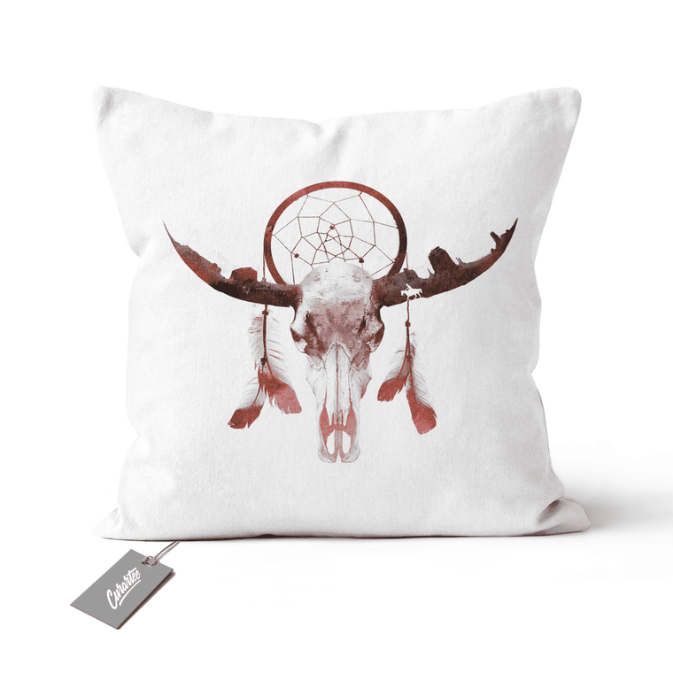 Deadly Desert Cushion - Premium Artwear Curartee