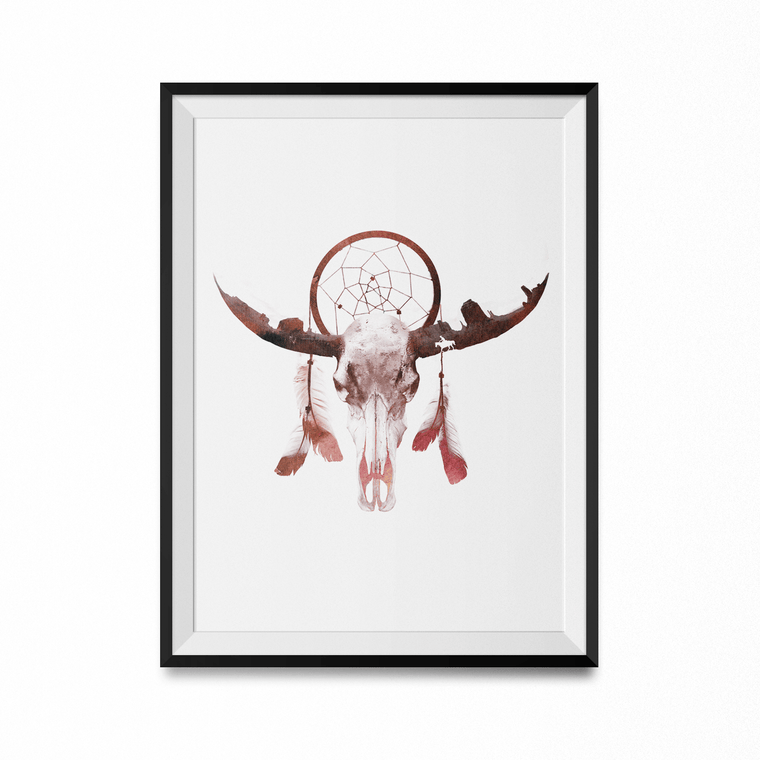 Deadly Desert Art Print-Curartee