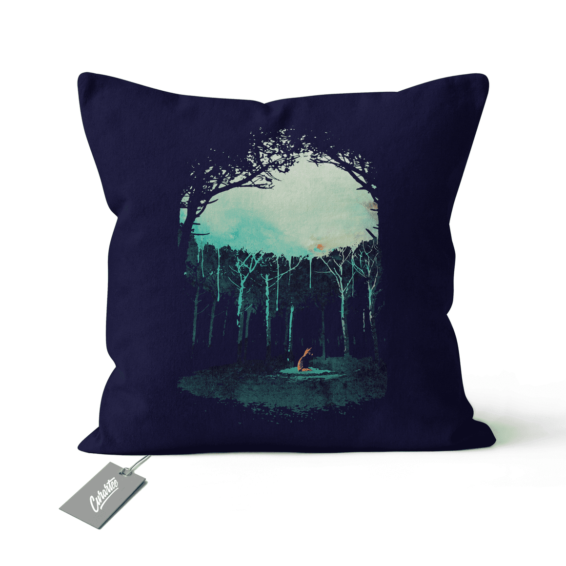 Deep In The Forest Cushion - Premium Artwear Curartee