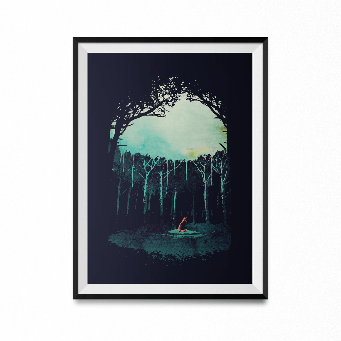 Deep In The Forest Art Print-Curartee
