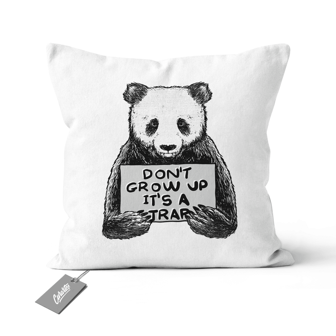 Don't Grow Up Cushion