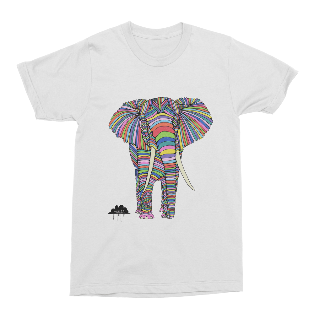 Eden The Elephant Men's T-Shirt-Curartee