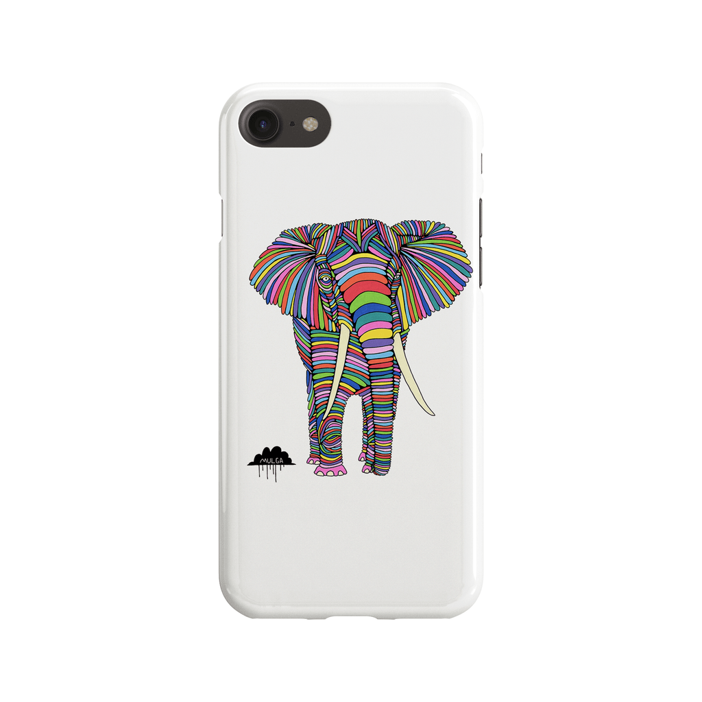 Eden The Elephant Phone Case - Premium Artwear Curartee