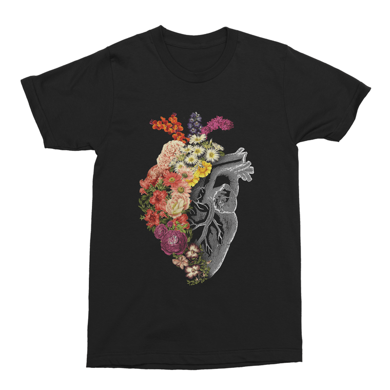 Flower Heart Spring Men's T-Shirt