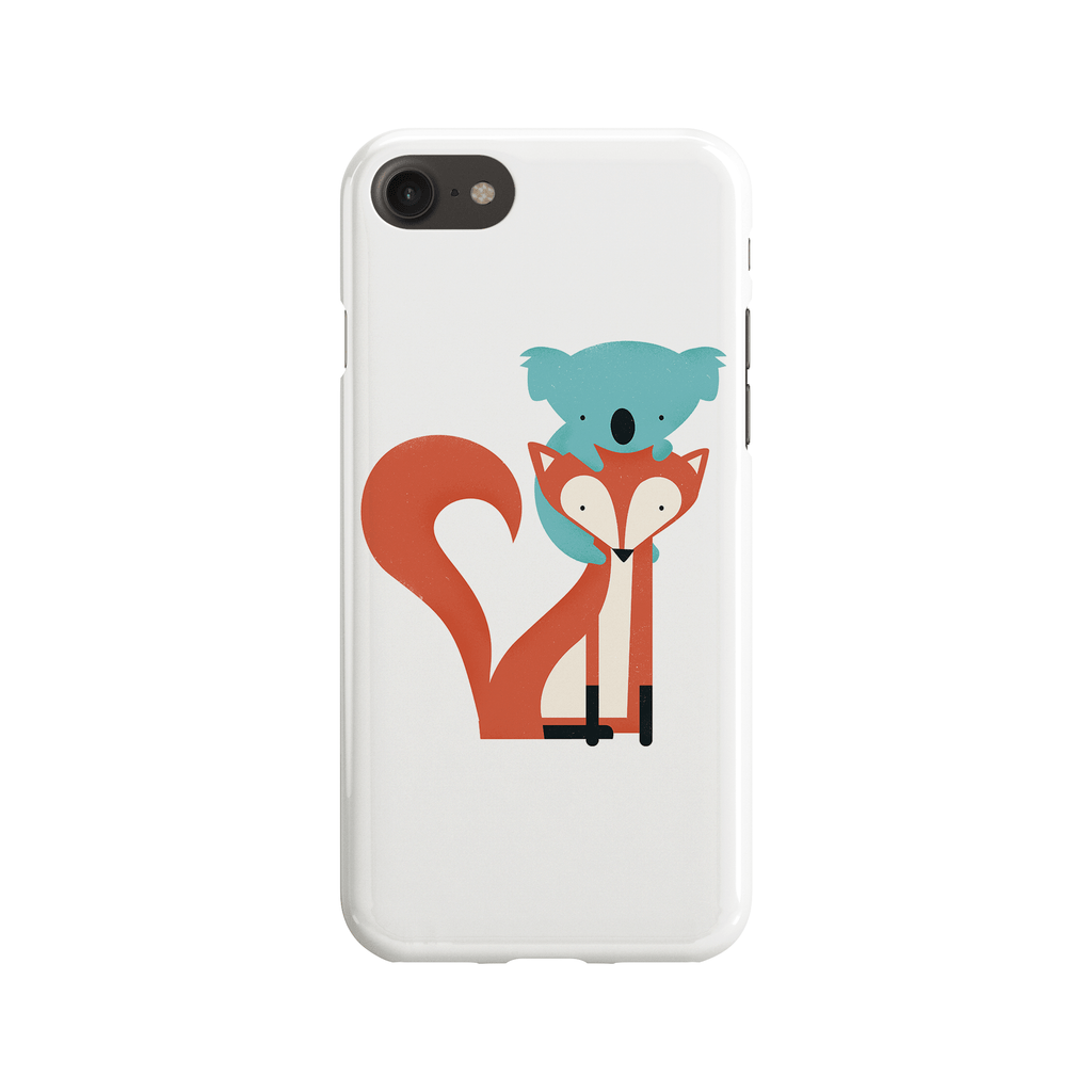 Fox and Koala Phone Case