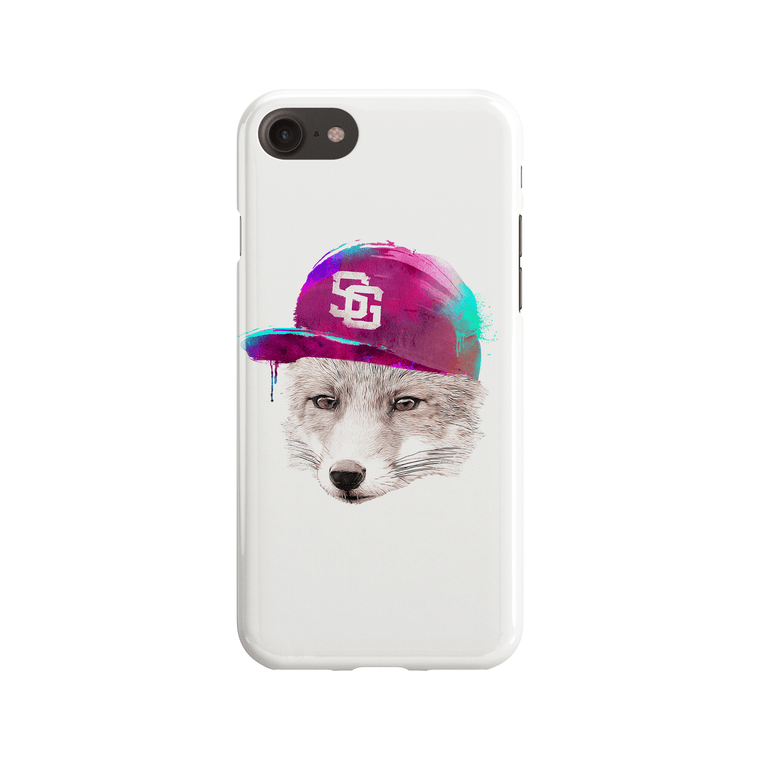 Foxes Favourite Cap Phone Case - Premium Artwear Curartee