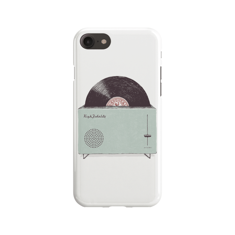 High Fidelity Phone Case - Premium Artwear Curartee