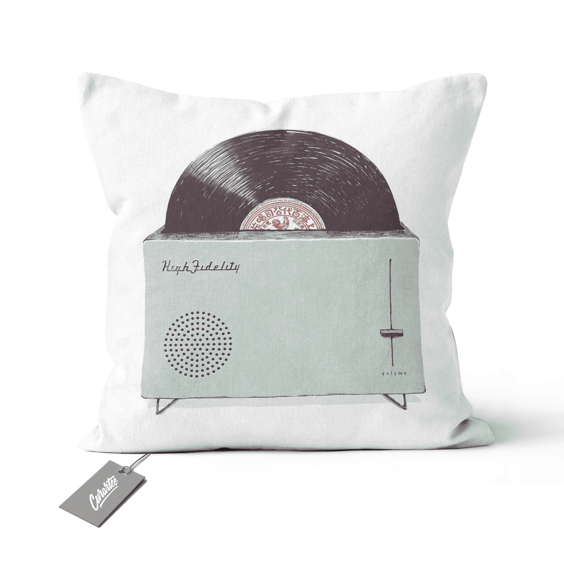 High Fidelity Cushion - Premium Artwear Curartee