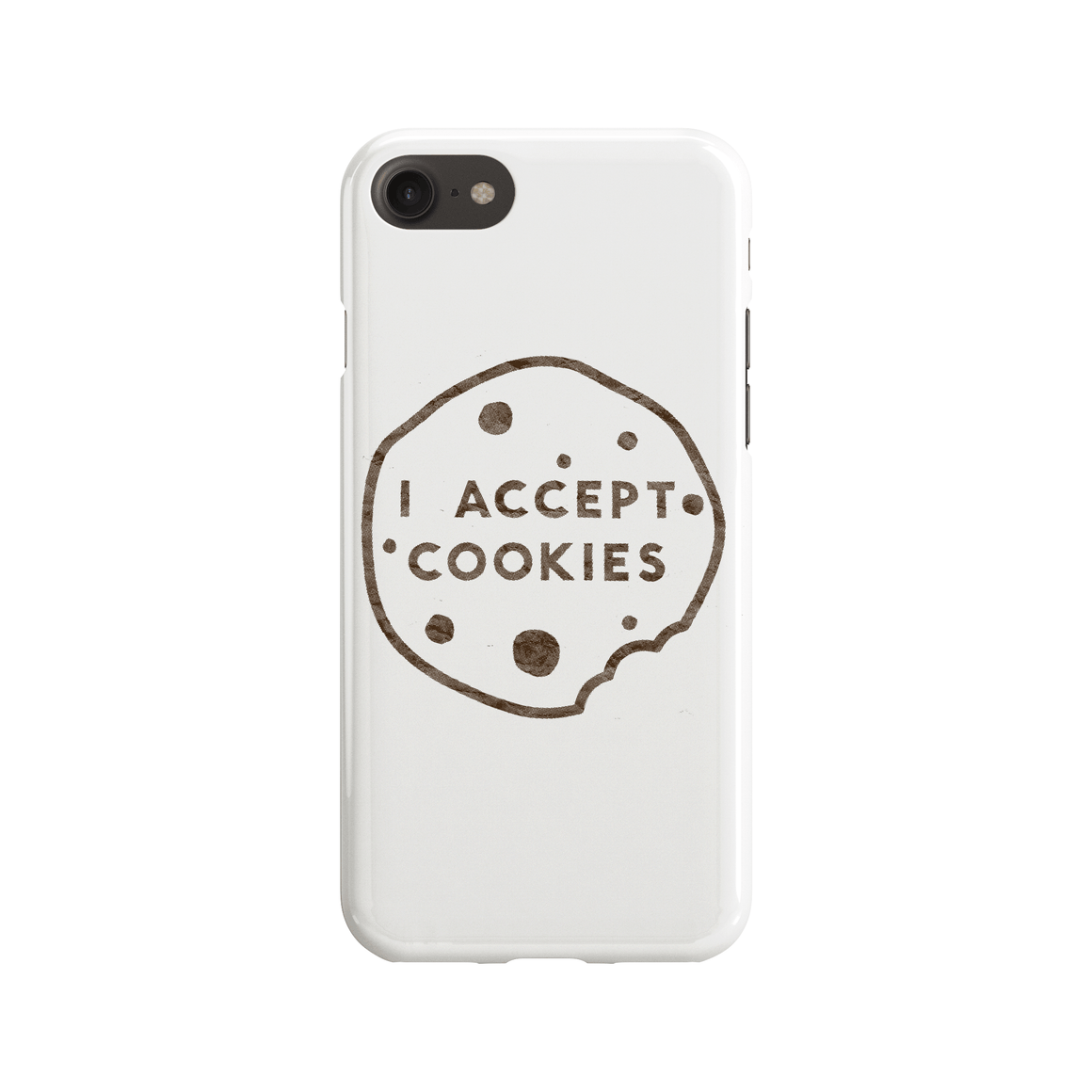 I Accept Cookies Phone Case - Premium Artwear Curartee