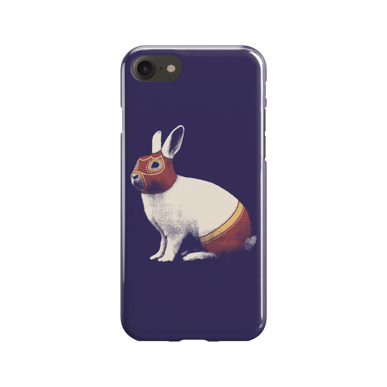 Lapin Catcheur Phone Case - Premium Artwear Curartee