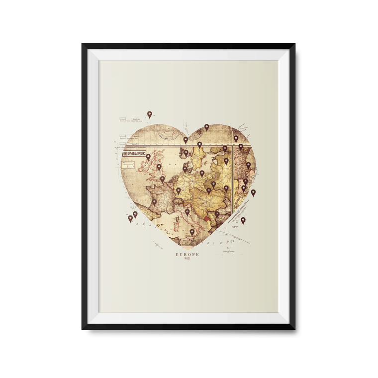 Love to Travel Art Print
