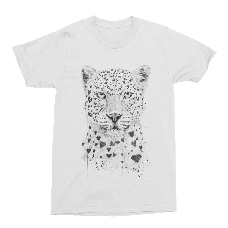 Lovely Leopard Men's T-Shirt-Curartee