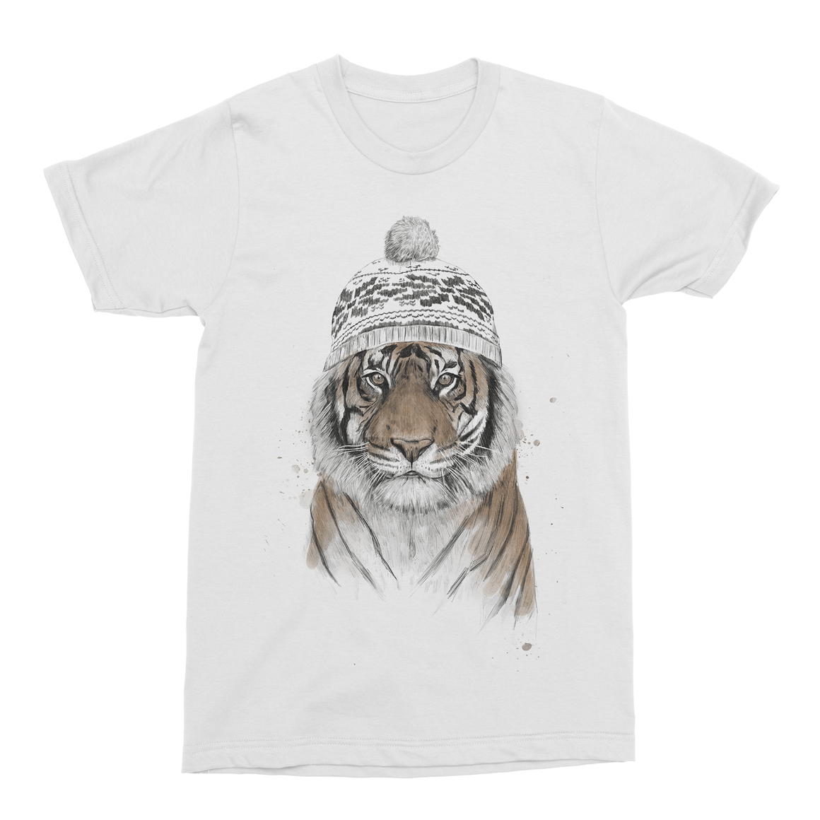 Siberian Tiger Men's T-Shirt-Curartee