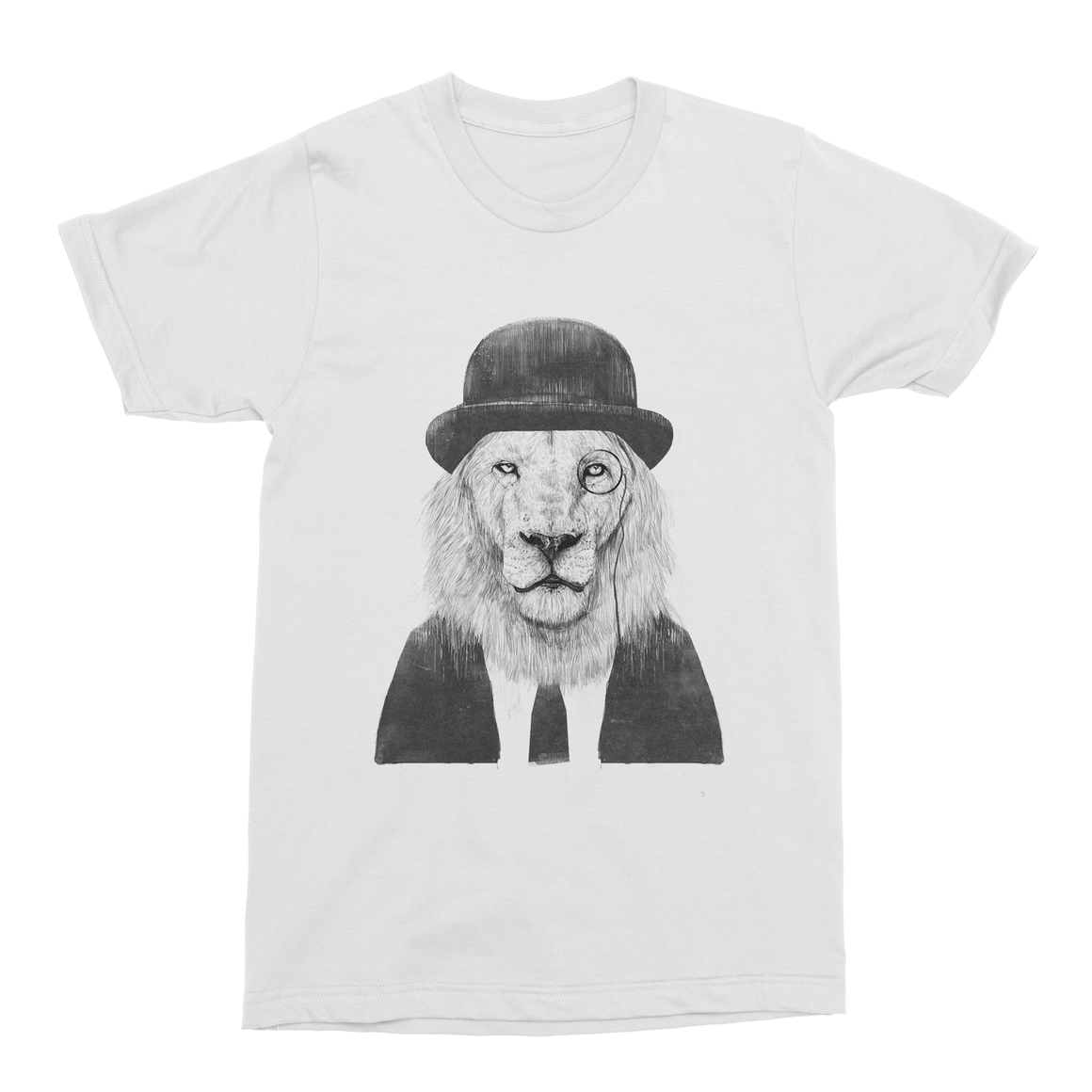 Sir Lion Men's T-Shirt-Curartee