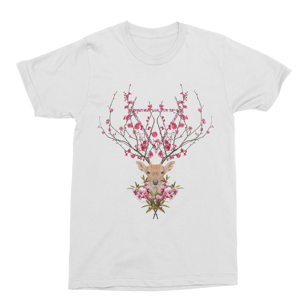 Spring Deer Men's T-Shirt-Curartee