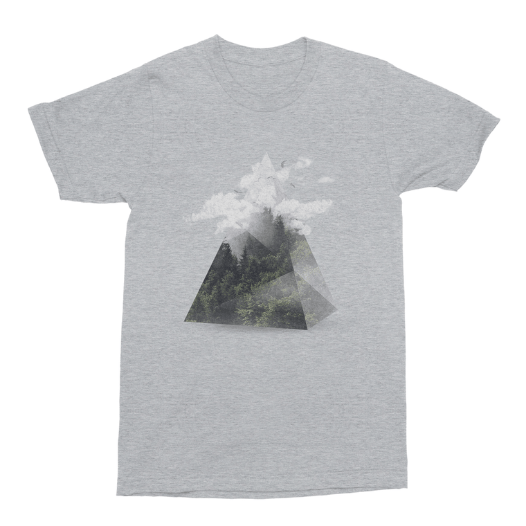 Triangle Men's T-Shirt-Curartee