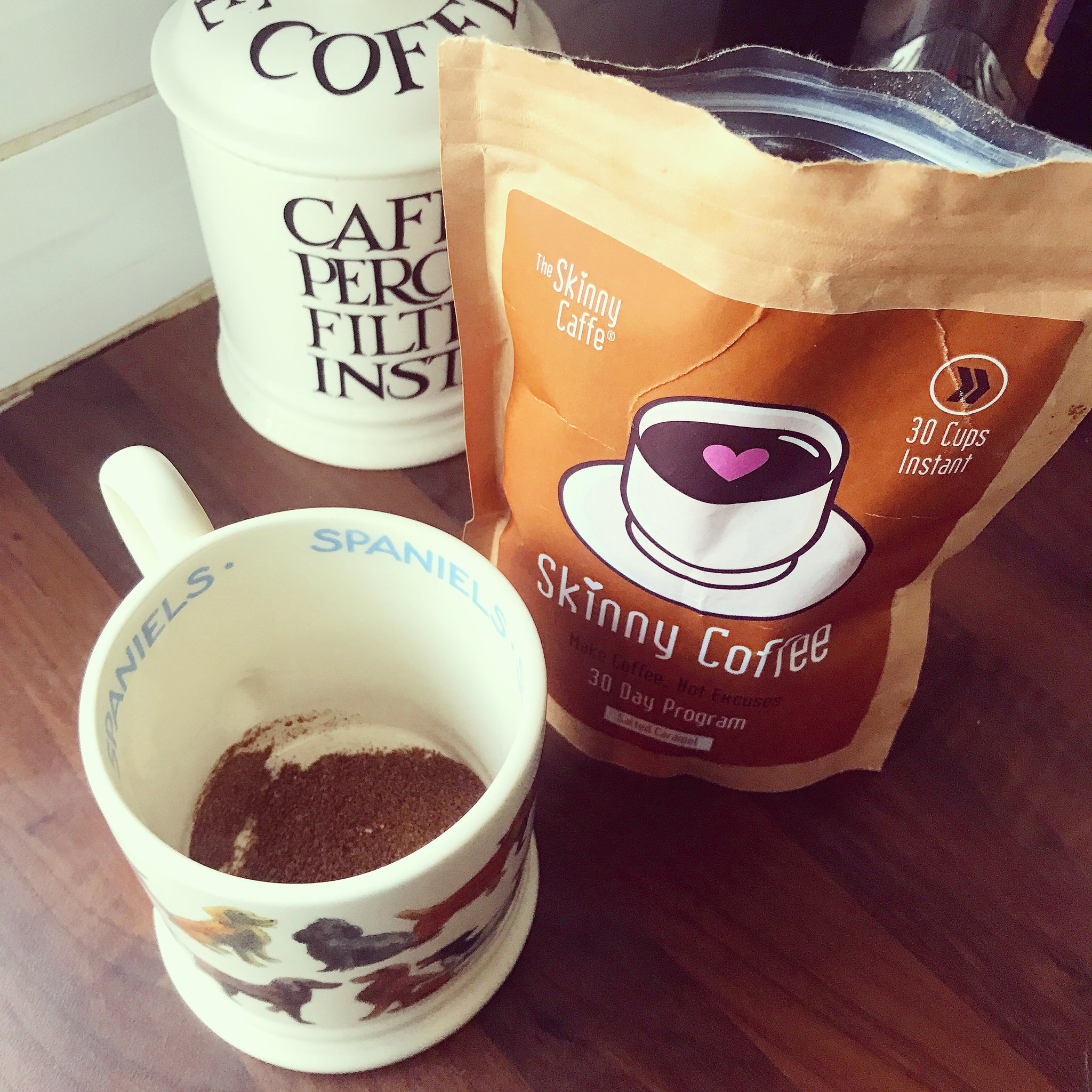 My Honest Review On The Skinny Caffe Salted Caramel Coffee