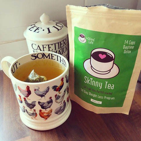 Danielle French The Skinny Caffe Minteatox Skinny Tea review