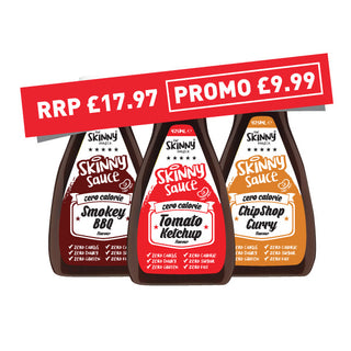 SKINNY SAUCE - TRIO BUNDLE (WAS £17.97 NOW ONLY £9.99)