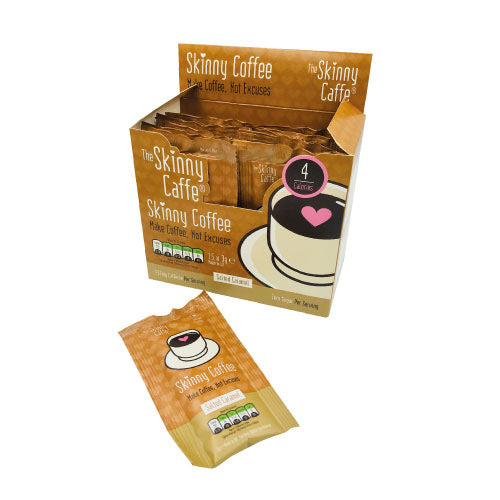 Skinny Salted Caramel Coffee Box  (15 Single Serving Sachets)