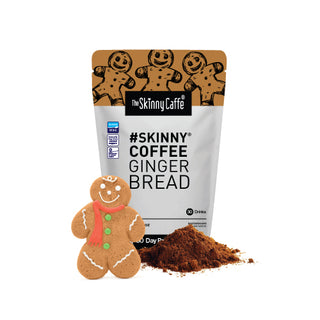 Skinny Coffee - Gingerbread Flavour (1 Month Weight Loss Program)