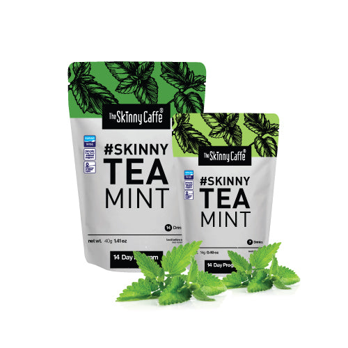 Mint Flavoured Detox 14 Day Skinny Tea (Day & Night Supply)
