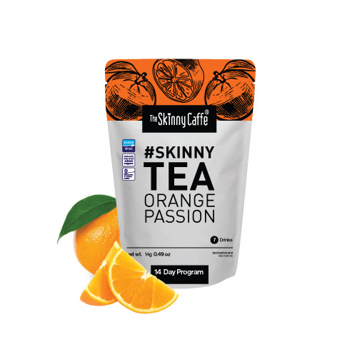 Skinny Tea 14 Day Supply (Bedtime Tea Only) Orange Passion flavour