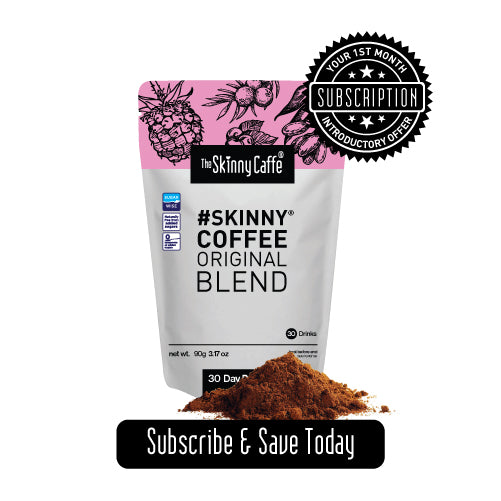 THE SKINNY CAFFE CLUB - *SAVE 25% SUBSCRIBE NOW*
