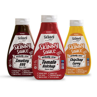 #NotGuilty Zero Calorie Skinny Sauces - The Skinny Food Co (425ml)