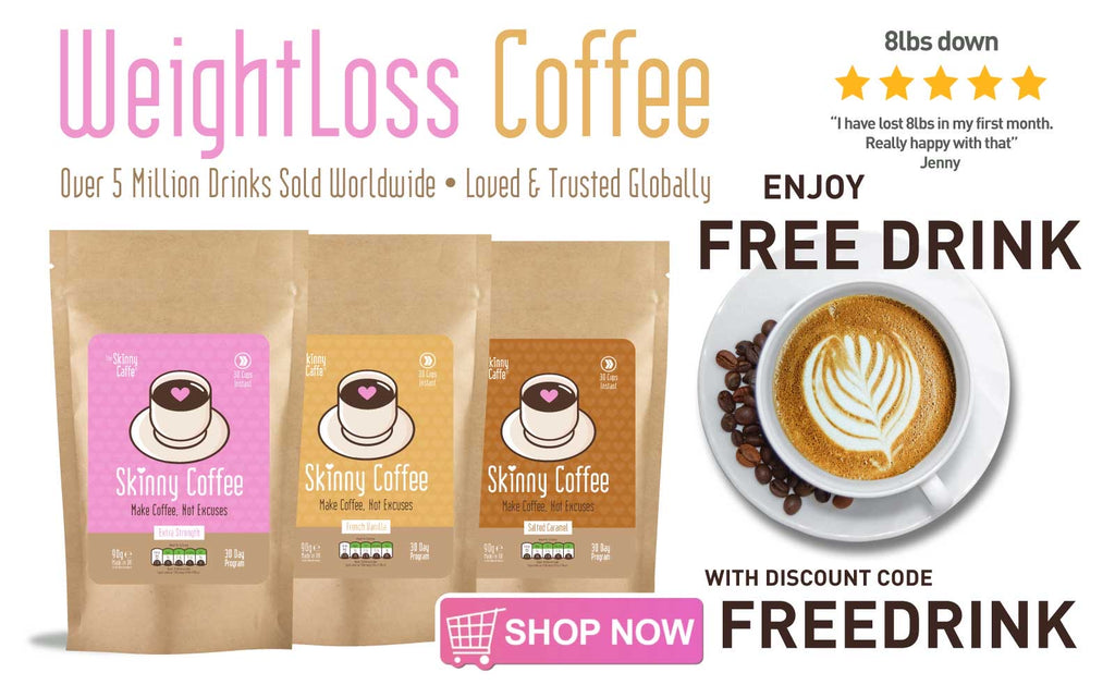 FREE Skinny Coffee Drink (Sweatcoin EXCLUSIVE)